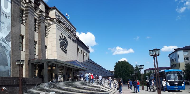 жаркое лето в музее